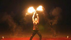 Veranstaltung, Event, Feuer, Show